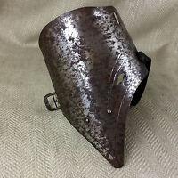 Antico Suit Di Armatura Parte Pezzi Ventola Piastra Acciaio Militare Vittoriano