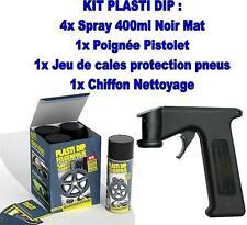 Plasti dip 4x400ml Noir Mat+spraymaster PORSCHE 911 (997)