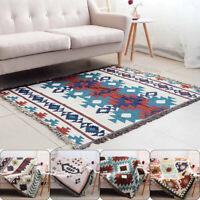 Tribal Ethnic Geometric Aztec Navajo Blanket Throw Rugs Sofa Couch Wall Hanging