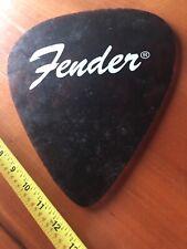 Vintage Large Fender Guitar Pick Display