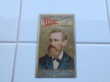 RARE Antique 1887 Duke Honest Long Cut Tobacco Card Sea Captains Henry Condron