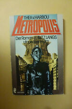 Metropolis: Gustav FRÖHLICH - Brigitte HELM - Theodor LOOS