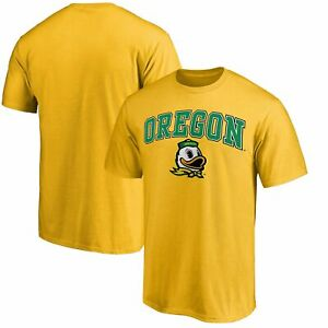 Oregon Ducks Fanatics Branded Campus Team T-Shirt - Yellow