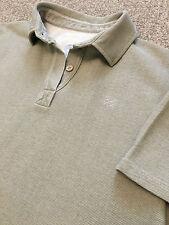 Magnifique Femme Chatham Marine Mer coton voile Polo shirt UK 16 Beige