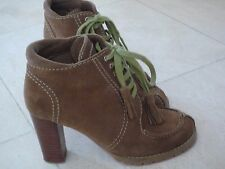 BOOTS TASSEL SUEDE SEE BY CHLOE TAILLE 35.5