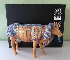 Neu! AIM Art in the City große Deko Kuh ANTIKE PHARAKUH  - Bernhard Prinz !! J20