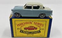 Matchbox No. 33 Hillman Minx in Original 'B3' Box