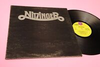Nitzinger LP Samde Debut Album Orig Italy 1972 EX Textured Gatefold Cover