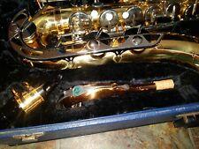 Vito Tenor Saxophone Sax Playing Condition in Original Case