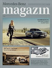 Mercedes Magazin 1 2012 Ayrton Senna A 250 Sport C 63 AMG SL CLS Laureus DTM