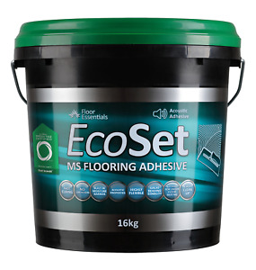 Ecoset Acoustic Timber Floor Adhesive 16kg (thats 7% more than 15kg) not bostik