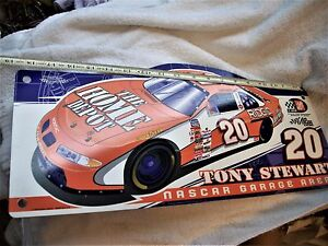 Vintage1999 NASCAR Tony Stewart Garage Area Sign