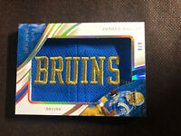 Joshua Kelley 2020 Immaculate Collection Collegiate Caps BRUINS Logo Patch /9