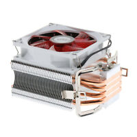 CPU Cooler 4 Heatpipe 9cm Fan for Intel, AMD, LGA 775/1366/1150/1151/1155/1156