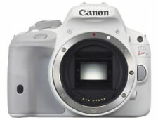 Canon EOS 100D (Kiss x7 Rebel SL1 ) 18.0MP DSLR (Body Only) White