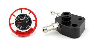 RED VUDU Vent Pod Kit Ford Fiesta ST180 Turbosmart Boost Gauge Reference Adapter