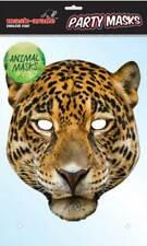 Animale Occhi Maschera Maschera trasparente leopardo su fascia Costume