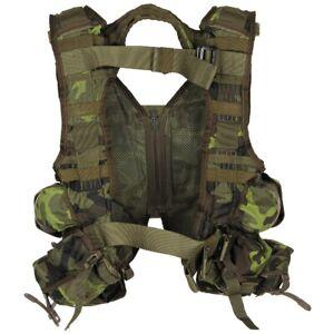 CZ Tactical Survival Combat Kampfweste Outdoor Weste M 95 tarn NEU Orginal