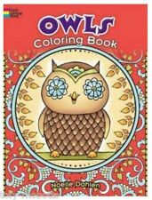 Coloring Book Adult, Owls Craft Drawing Young Artist Gift For Children All Ages