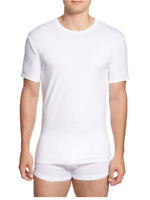 CALVIN KLEIN 2-Pack Stretch Cotton Crewneck T-Shirt, White, Large