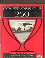 GOVERNORS CUP 250 LATE MODEL STOCK CAR car racing official program