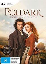 POLDARK Series : Season 1 - 2 : NEW DVD Box Set