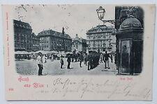 19881 AK Gruß aus Wien Wach Soldaten am Hof 1900 Militär KuK Monarchie