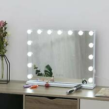 15 LED Bulbs Vanity Mirror Makeup Cosmetic Bathroom with LED Dimmable Lights