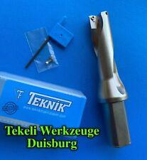 TEKNIK 1 x 30,0 mm Wendeplattenbohrer (Vollbohrer) U170 3xD mit IK für WCMX 06..