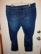 New Stitch Star big pocket 4 pocket jeans Classic  Stretch Dark Wash 22WP J-3