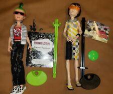 Lot 2 Monster High Deuce Gorgon Jackson Jekyll Boy Dolls