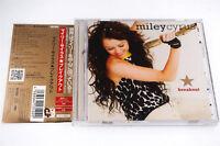 MILEYCYRUS BREAKOUT AVCW-13102 CD JAPAN OBI A5174