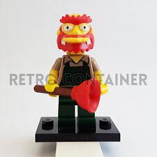 LEGO Minifigures - 1x sim039 - Willie Gardenkeeper - Simpsons Omino Minifig