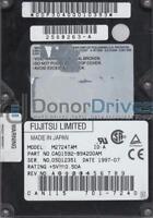 M2724TAM, PN CA01592-B94200AM, Fujitsu 1.6GB IDE 2.5 Hard Drive