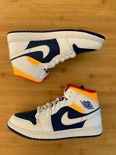 Jordan 1 Mid Royal Blue Laser Orange | Size 8.5 |100% Authentic DS