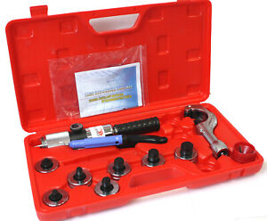 """Hydraulic HVAC Tube Expander Swaging 7 Lever Expander Tools Kit Tool 3/8""""-1-1/8"""""""