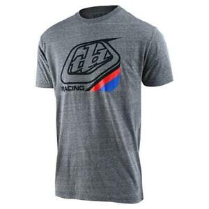 Troy Lee Designs 2020 Youth Precision 2.0 T-Shirt Gray Snow All Sizes