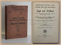 Lotze Königlich Sächische Gesetzte & Verordnungen Jagd & Fischerei 1900 Sachsen