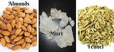 Mix Powder Almond Fennel Rock Sugar Badam Mishri Sauf Home Remdy For Eyesight
