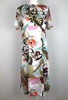 marks & spencer Midi Dress Size 14 Floral Floaty Occasion Work Wedding