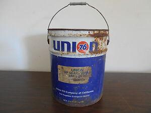 VINTAGE UNION 76 - 5 GALLON OIL CAN
