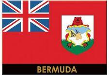 "BERMUDA FLAG CARIBBEAN FRIDGE COLLECTOR'S SOUVENIR MAGNET 2.5"" X 3.5"""