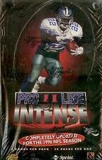 1996 Pro Line 2 Intense Football Trading Cards, Factory Sealed Box!