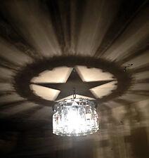Texas Star Shadow Light Bottle Chandelier, West, Rodeo, Decor, Gift, Lone Star