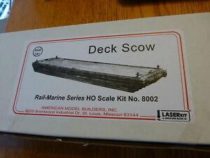 American Model Builders HO #8002 Deck Scow (kit)