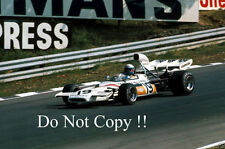 Peter Revson McLaren M19A British Grand Prix 1972 Photograph 2