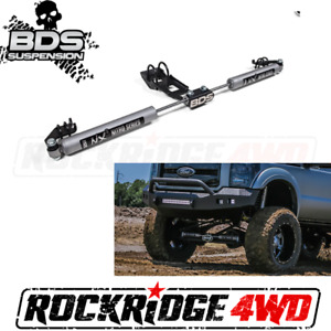 BDS SUSPENSION NX2 DUAL STEERING STABILIZER KIT for 05-16 Ford F250 / F350 4WD