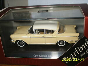 1:43 Starline - OPEL Kapitaen 1958
