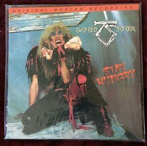 TWISTED SISTER VINYL stay hungry LP MOFI Ltd #1248/3000 SEALED Original Master