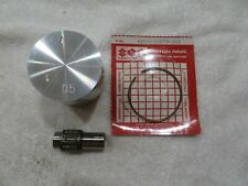 Suzuki NOS RM80 1989-1990 0.50mm Over Piston & Ring Kit, 12102-02811-050